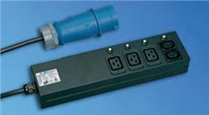 Knürr BladePower PDU 2xC13+3xC19, 1x32A IEC60309