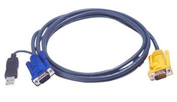 ATEN KVM sdružený kabel k CS-12xx, CL-10xx,USB, 6m