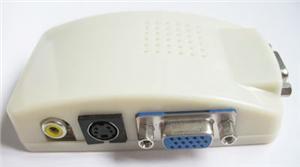 Převodník kompozit. signálu s-video/cinch na VGA - A-9