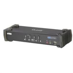 Aten 4 port DVI KVMP USB, 2port USB HUB, audio - CS-1764A