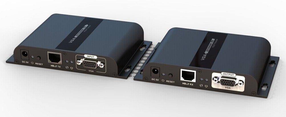 VGA extender na 120m přes LAN, over IP, HDBitT - khext120-3
