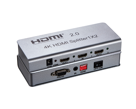 HDMI 2.0 splitter 1-2 porty, 4K x 2K/60Hz, FULL HD