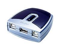 ATEN USB 2.0. přepínač periferií 2:1 US-221A - US-221