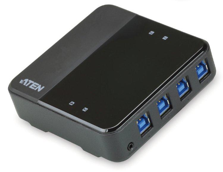 ATEN USB 3.0 přepínač periferií 4:4