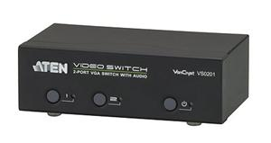 ATEN 2-port VGA Video/Audio přepínač
