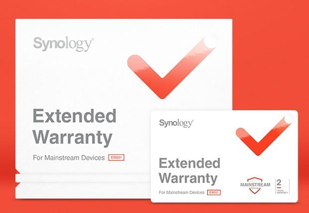 Synology Prodloužená záruka - EW201