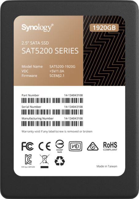 Synology 2.5'' SATA SSD SAT5200 - SAT5200-1920G