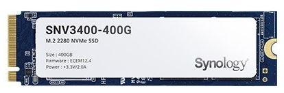 Synology M.2 NVMe SSD řady SNV3000 - SNV3400-400G - SNV3400-400G