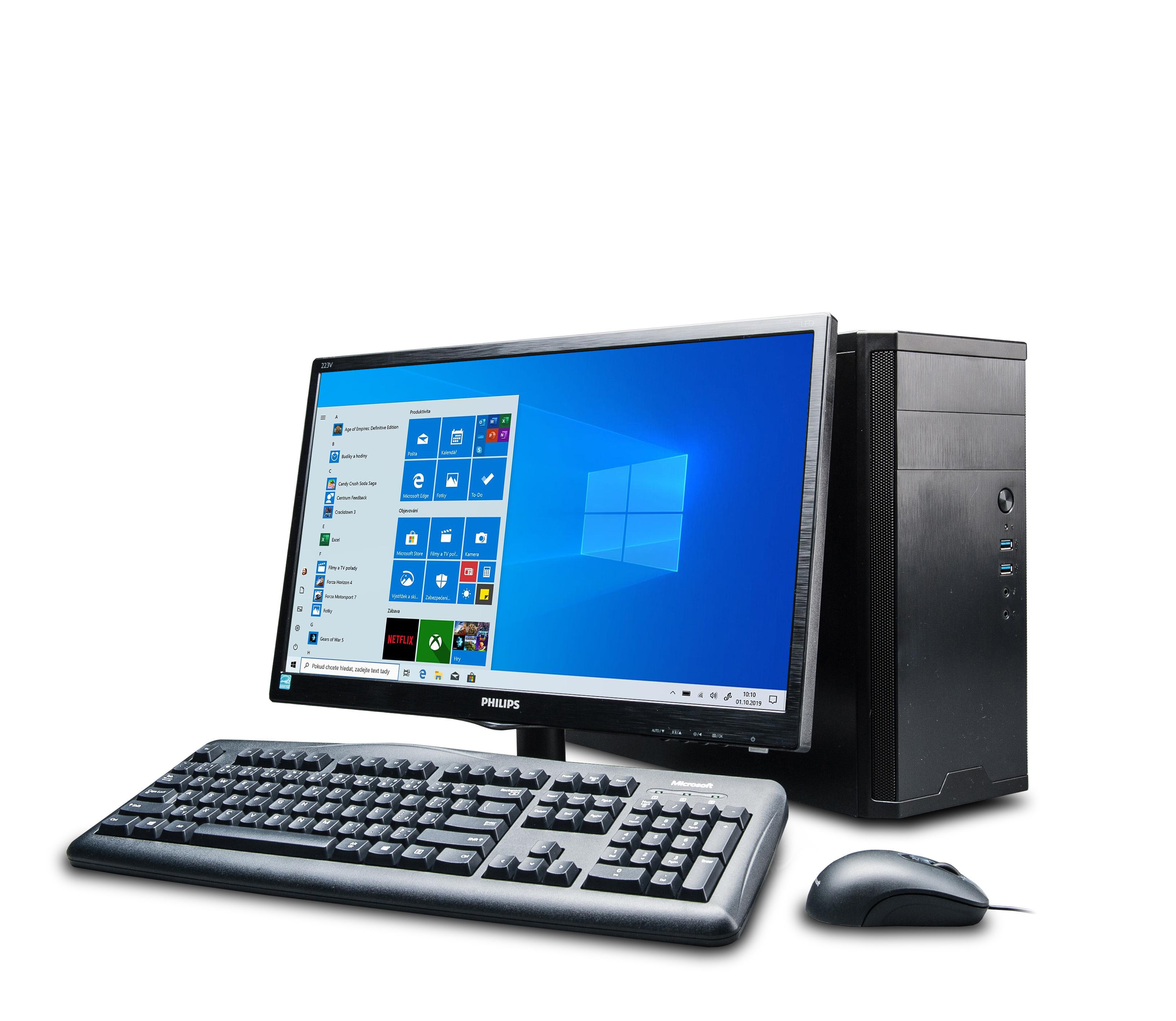Premio Basic 510 S480 (i5-10400/8GB/480GB/DVD/W10Pro) - 113820064