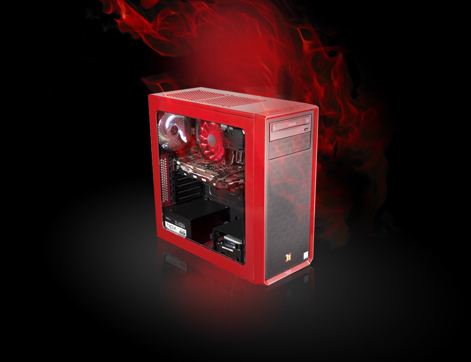 X-DIABLO Gamer_5008_RED