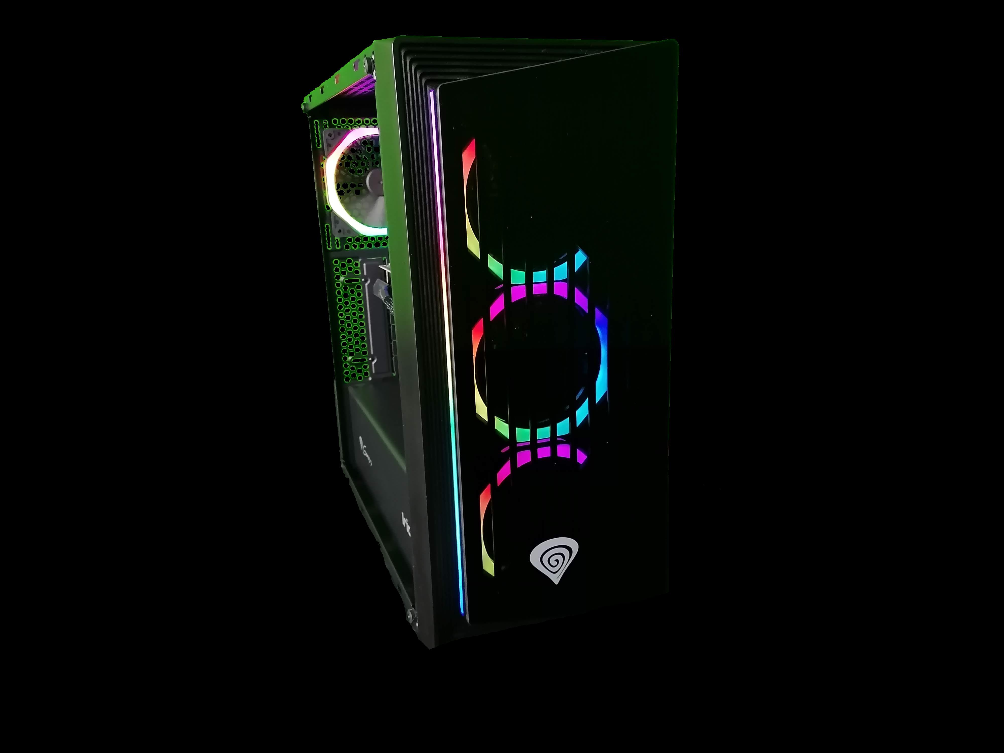 X-DIABLO Gamer R5 2060 RGB (R5 3600/16GB/SSD 1000GB NVME/RTX2060 6GB/W10) - 11552611