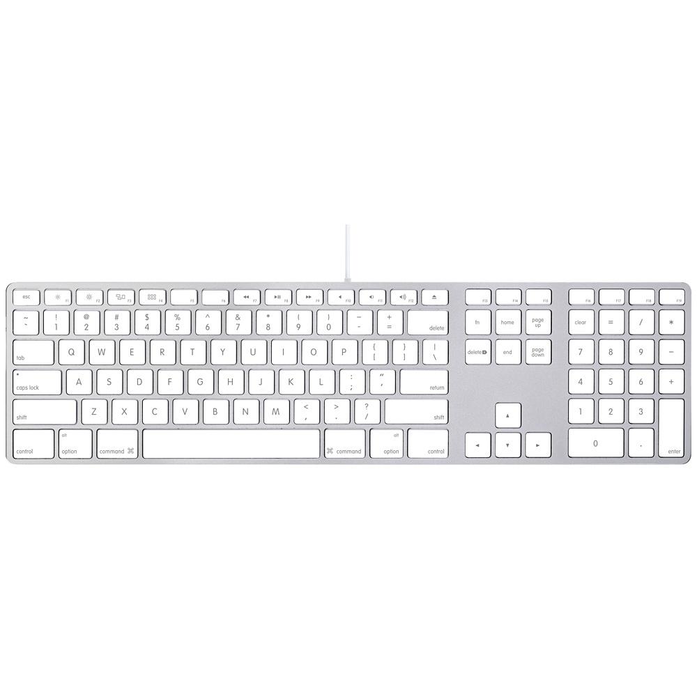 Wired Keyboard CZ s numerickou klávesnicí