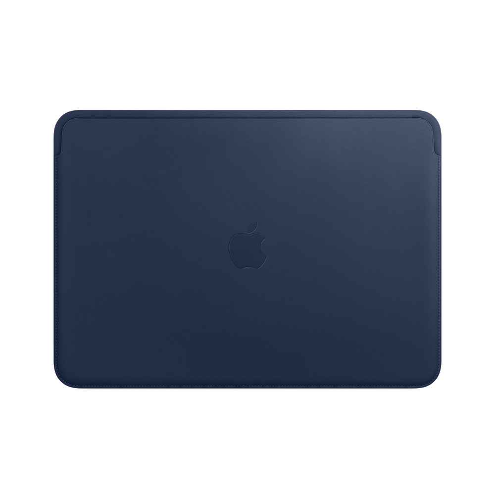 Leather Sleeve pro MacBook Pro 13 - Midnight Blue