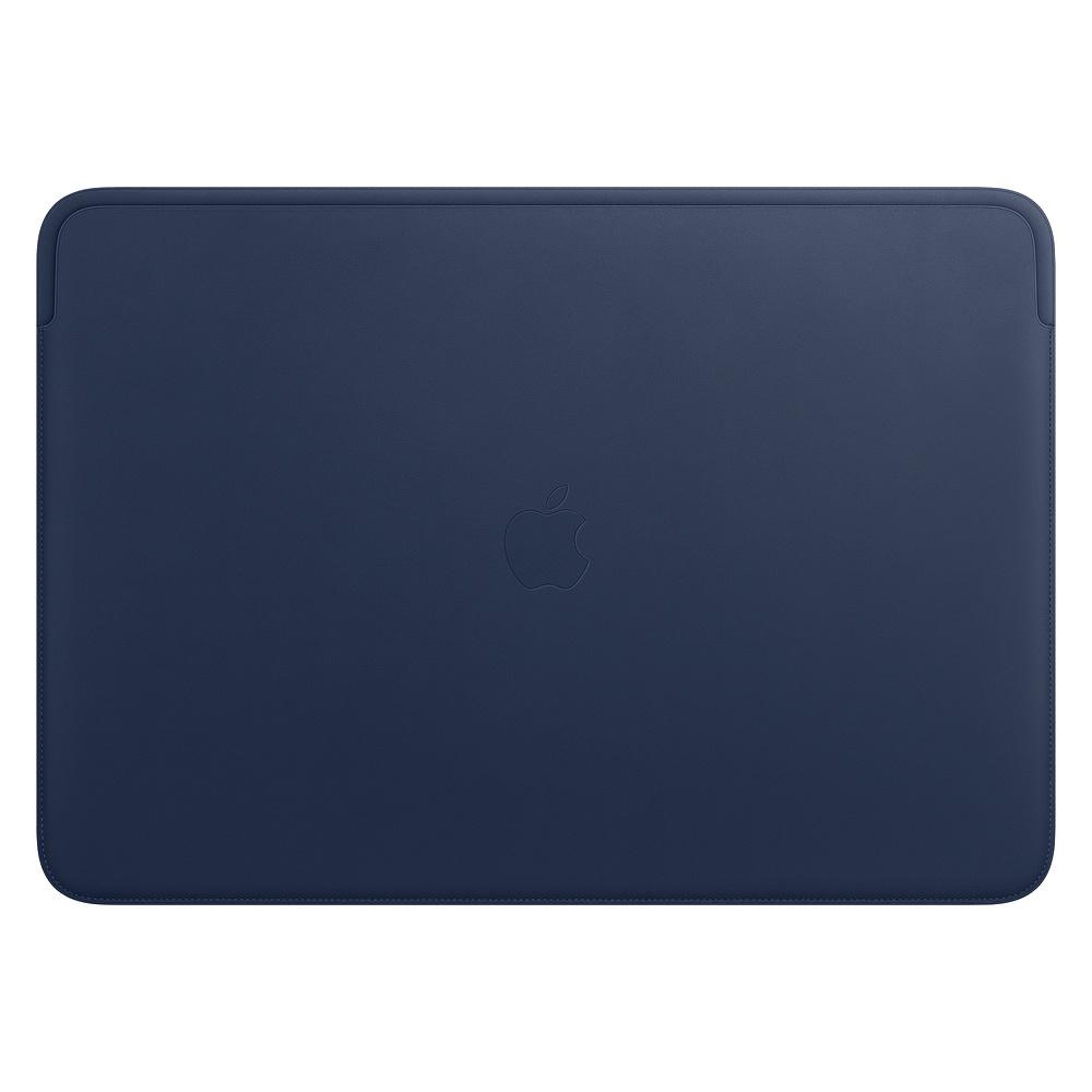 Leather Sleeve pro MacBook Pro 16 - Midnight Blue
