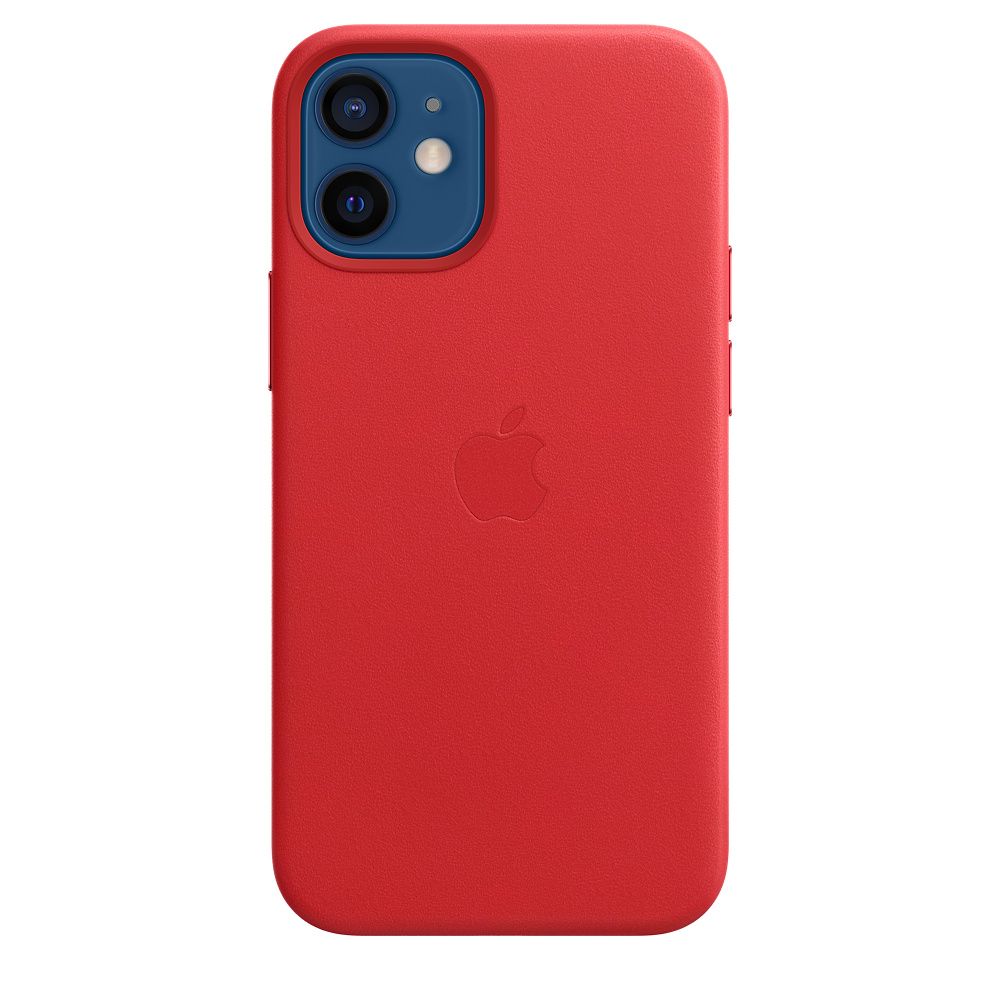 iPhone 12 mini Leather Case with MagSafe (P.)RED - MHK73ZM/A