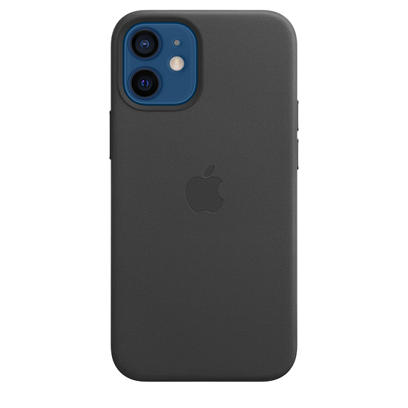 iPhone 12 mini Leather Case with MagSafe Black - MHKA3ZM/A
