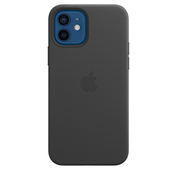iPhone 12/12 Pro Leather Case with MagSafe Black - MHKG3ZM/A
