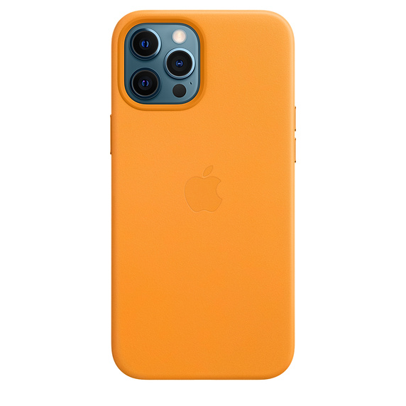 iPhone 12 Pro Max Leather Case wth MagSafe C.Poppy - MHKH3ZM/A