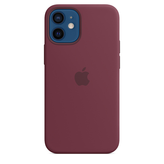 iPhone 12 mini Silicone Case with MagSafe Plum/SK - MHKQ3ZM/A