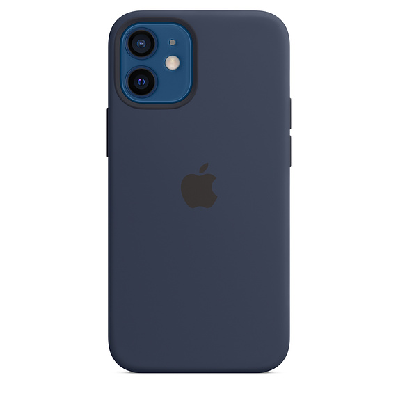 iPhone 12 mini Silicone Case wth MagSafe D.Navy/SK - MHKU3ZM/A