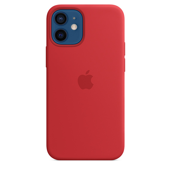 iPhone 12 mini Silicone Case wth MagSafe (P)RED/SK - MHKW3ZM/A