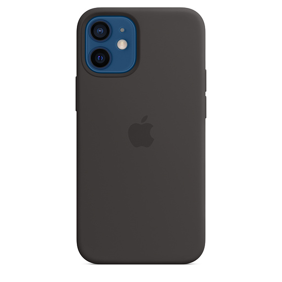 iPhone 12 mini Silicone Case with MagSafe Black/SK - MHKX3ZM/A