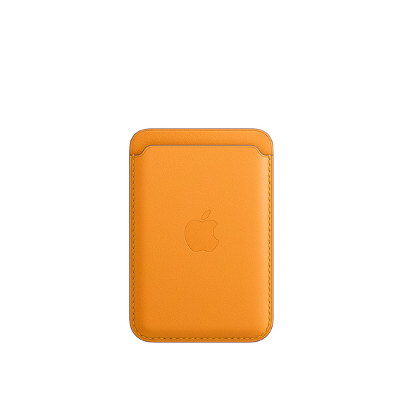 iPhone Leather Wallet with MagSafe C.Poppy - MHLP3ZM/A