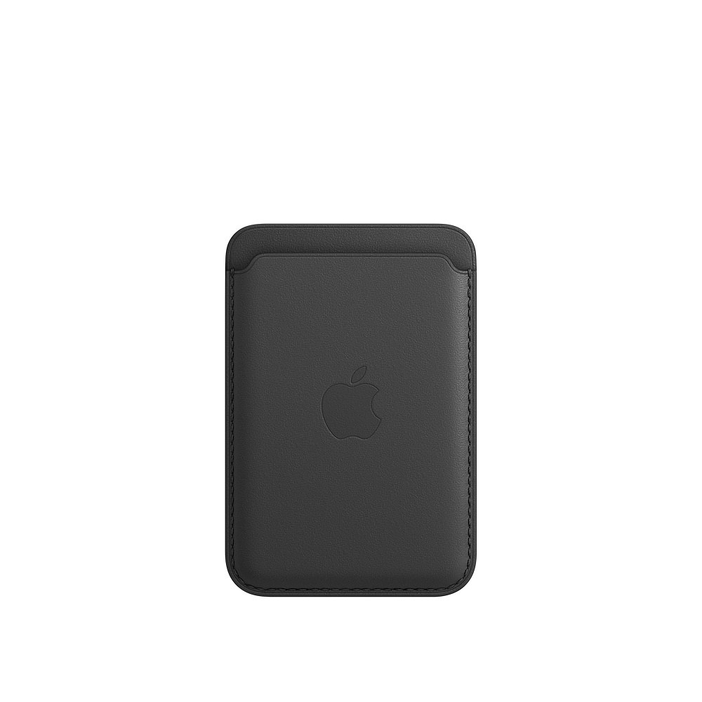 iPhone Leather Wallet with MagSafe Black - MHLR3ZM/A