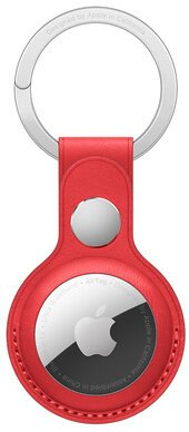 AirTag Leather Key Ring - (PRODUCT)RED / SK - MK103ZM/A