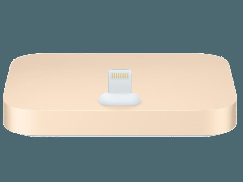 iPhone Lightning Dock Gold