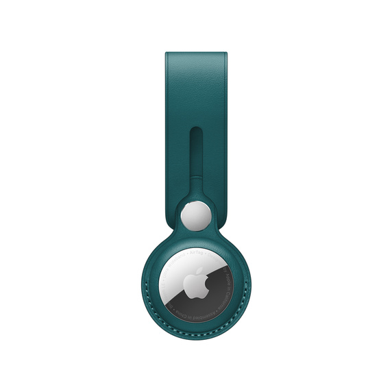 AirTag Leather Loop - Forest Green / SK - MM013ZM/A