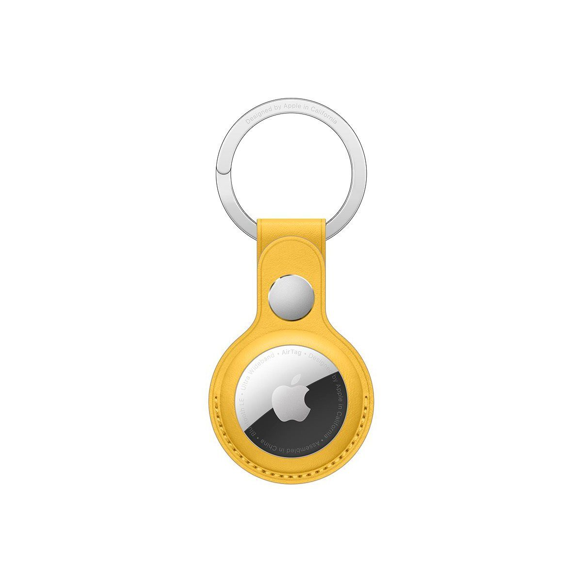 AirTag Leather Key Ring - Meyer Lemon / SK - MM063ZM/A