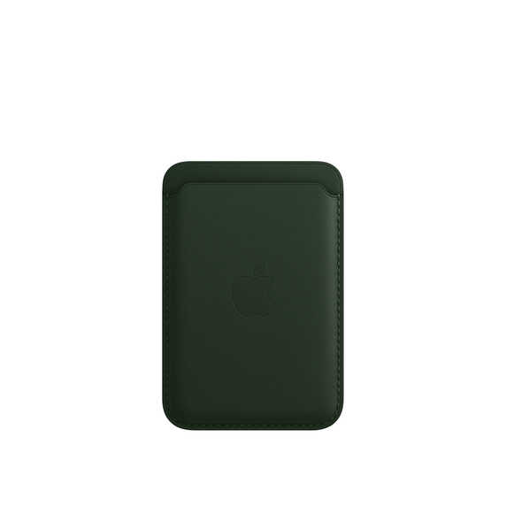 iPhone Leather Wallet w MagSafe - S.Green - MM0X3ZM/A