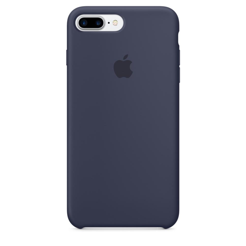 iPhone 7 Plus Silicone Case - Mid Blue