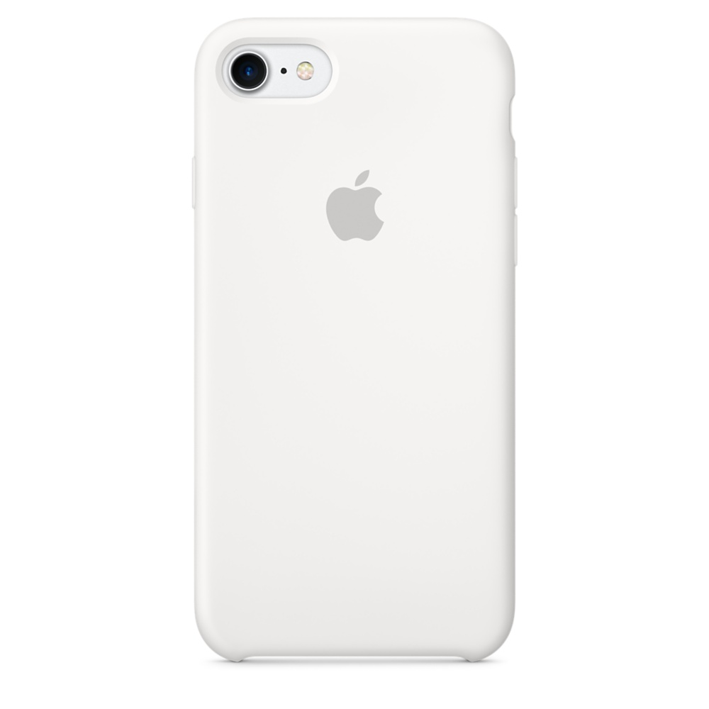 iPhone 7 Silicone Case - White
