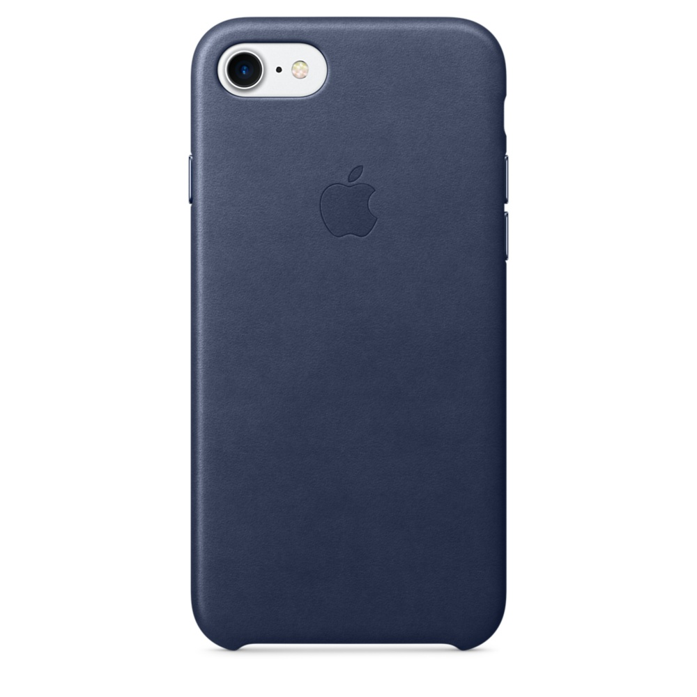 iPhone 7 Leather Case - Mid Blue