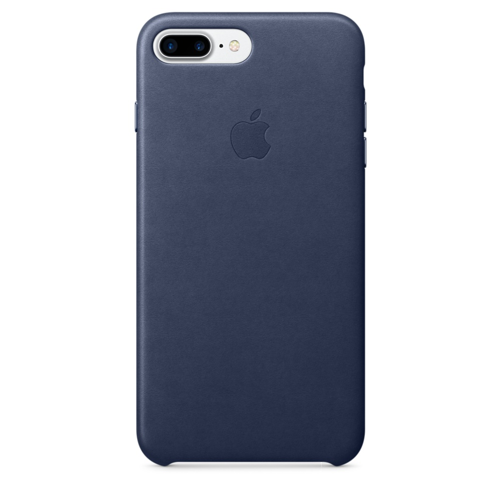 iPhone 7 Plus Leather Case - Mid Blue