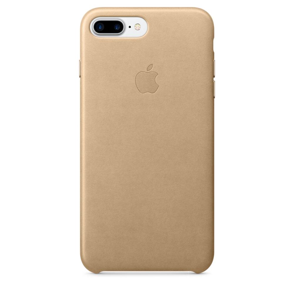 iPhone 7 Plus Leather Case - Tan