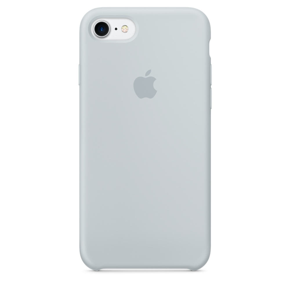 iPhone 7 Silicone Case - Mist Blue