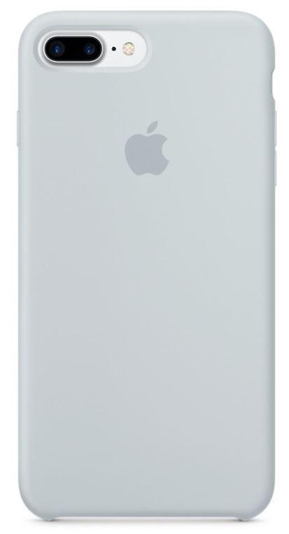 iPhone 7 Plus Silicone Case - Mist Blue
