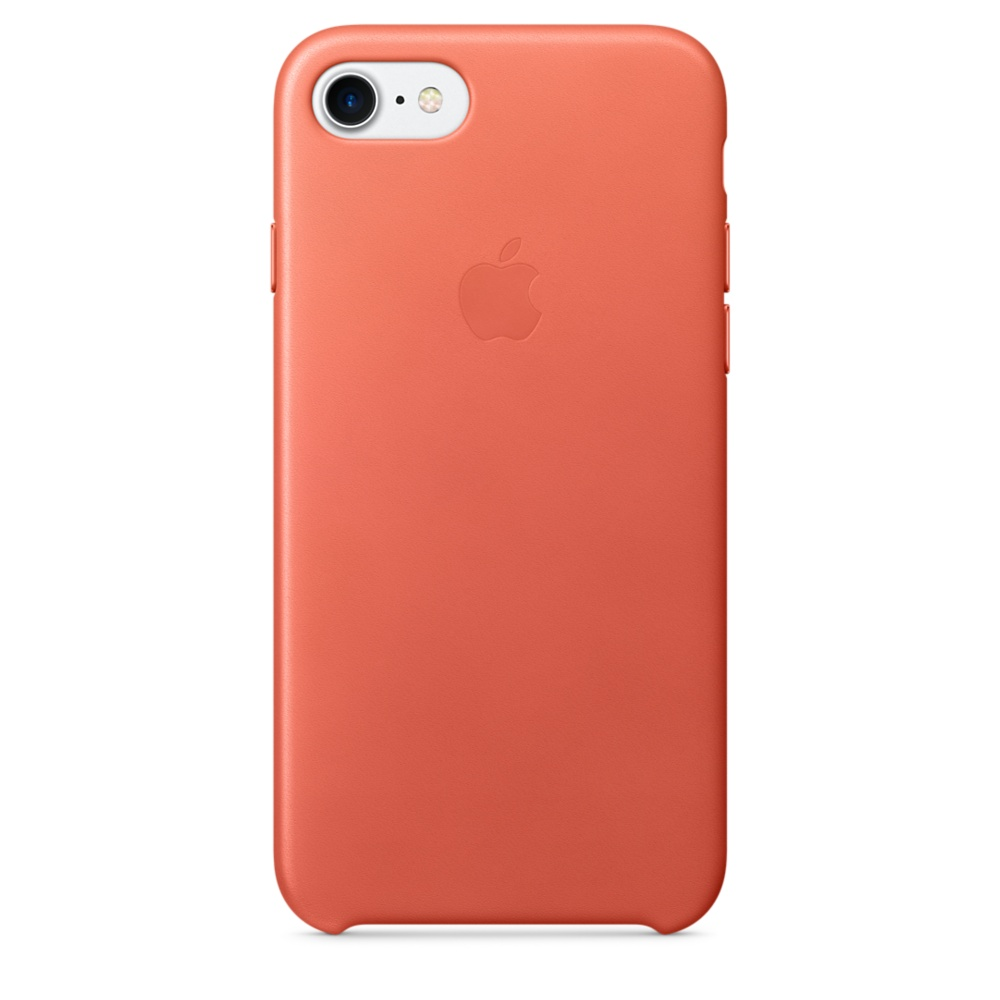 iPhone 7 Leather Case - Geranium