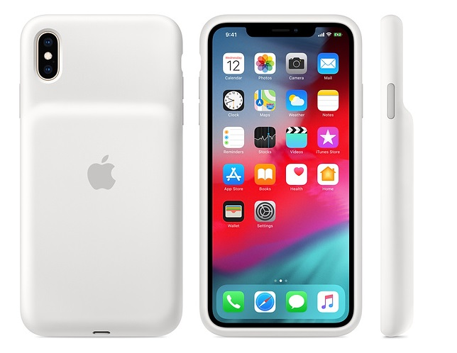 iPhone XS Max Smart Battery Case - White