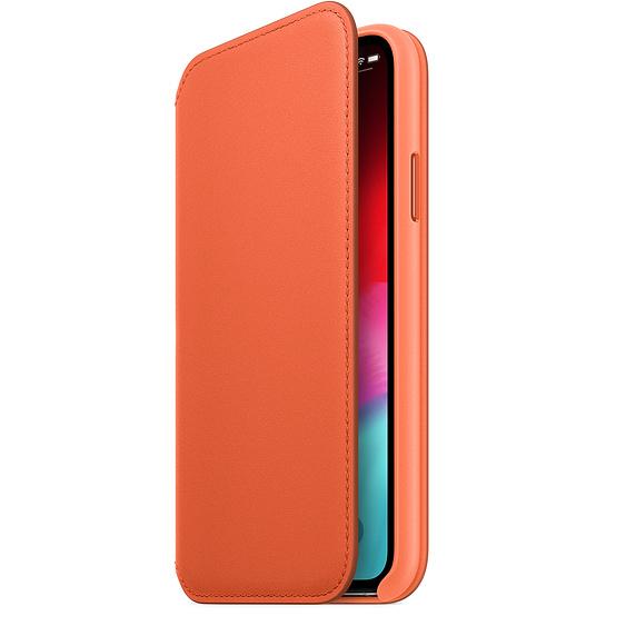iPhone XS Max Leather Folio - Sunset