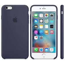 iPhone 6S Plus Silicone Case Midnight Blue
