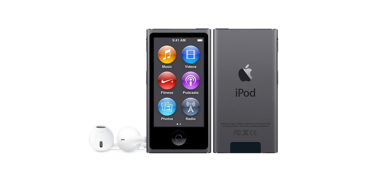iPod nano 16GB - Space Grey