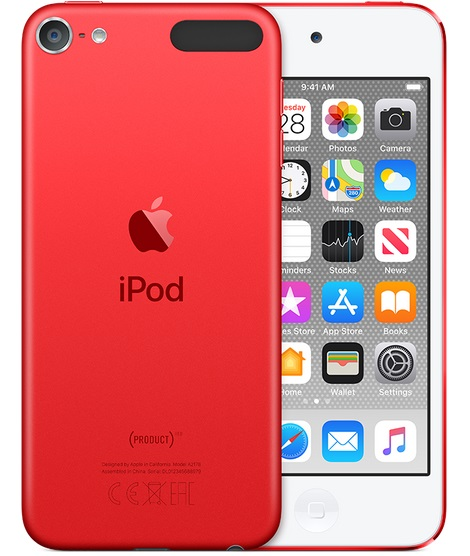 iPod touch 128GB - PRODUCT(RED) - MVJ72HC/A