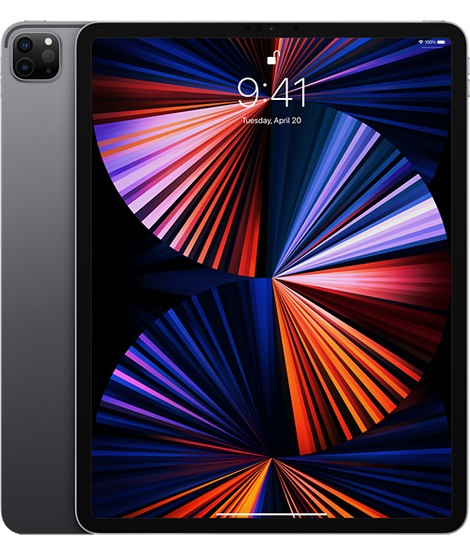 12.9'' M1 iPad Pro Wi-Fi + Cell 256GB - Space Grey - MHR63FD/A
