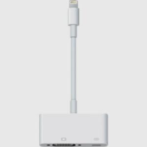 Lightning to VGA Adapter