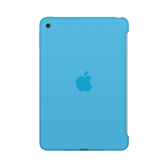 iPad mini 4 Silicone Case Blue