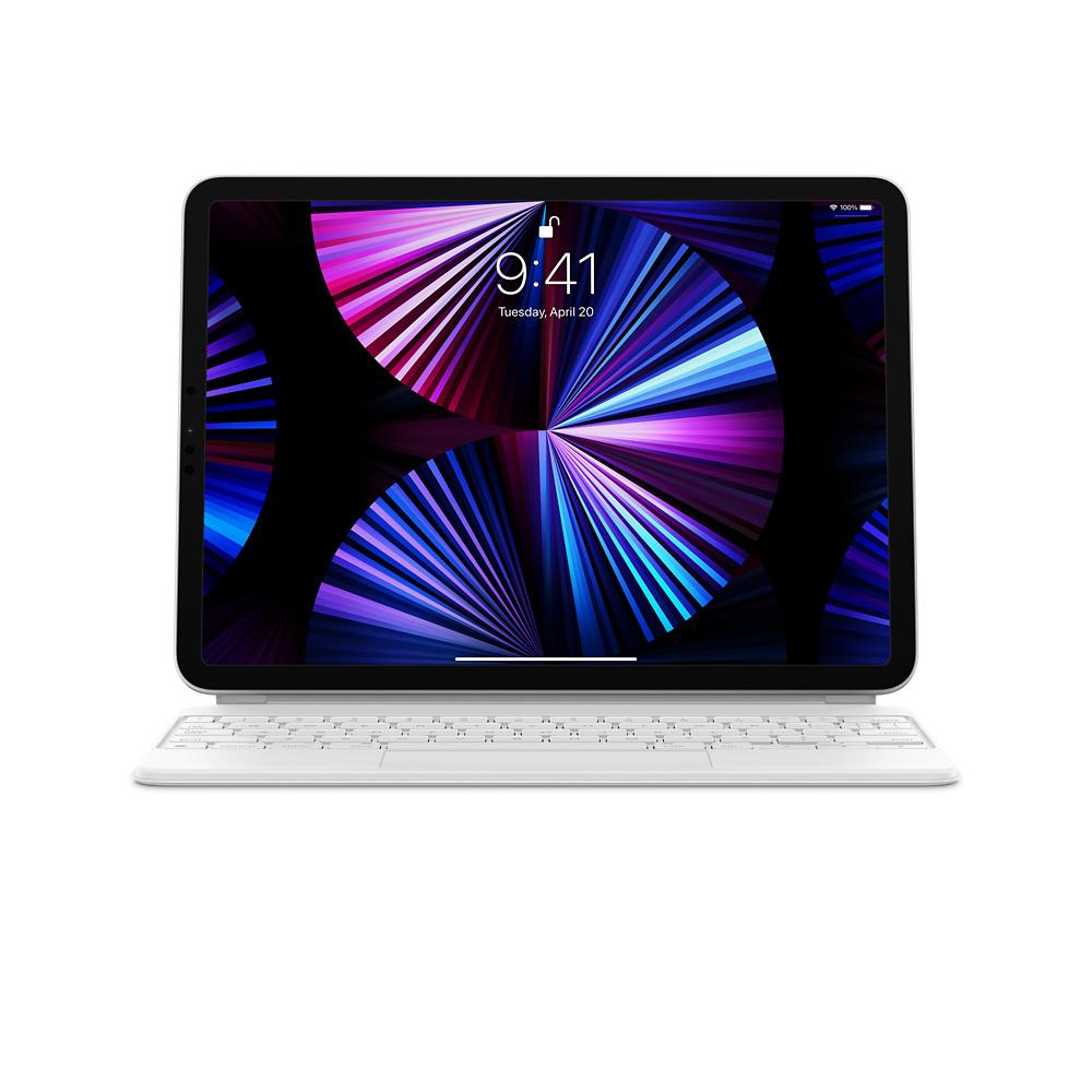 Magic Keyboard for 11''iPad Pro (3GEN) -US- White - MJQJ3LB/A